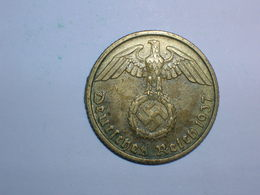 ALEMANIA 10 PFENNIG 1937 D (1373) - [ 4] 1933-1945 : Tercer Reich