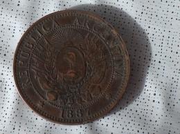 Argentine Dos Centavos 1887 - Argentina