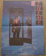 AFFICHE CINEMA ORIGINALE FILM LE THEME PANFILOV OULIANOV TCHOURIKOVA TB DESSIN CABINE TELEPHONIQUE - Affiches & Posters