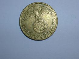 ALEMANIA 10 PFENNIG 1937 F (1374) - [ 4] 1933-1945 : Tercer Reich