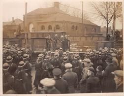 GREVE DANS LE NORD- DEVANT UN PUITS DE MINE A DEMAIN - LE 25/11/1938 - Photos