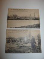 ENTRE SAINT MARTIN SUR LE PRE ET RECY MARNE LOT 2 CPA INONDATIONS JANVIER 1910 TRAVAUX - Autres Communes