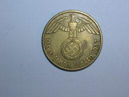 ALEMANIA 10 PFENNIG 1937 J (1375) - [ 4] 1933-1945 : Tercer Reich