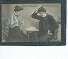 Théme-Metier-CARTOMANCIENNE Tirant Les Cartes - Professions