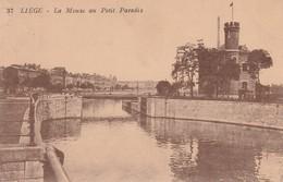 Liege  La Meuse Au Petit Paradis - Liege