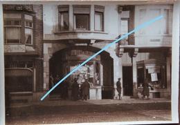 Photo DE PANNE Adinkerke Vila Albert Winkel Blavier Epicerie Café Belgsiche Soldaten Avenue De La Mer, 33 ABL Leger WO1 - Luoghi