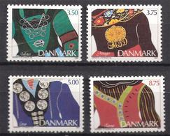 Denmark  1993 Costume Jewelry. Mi 1064-1067 MNH(**) - Dänemark