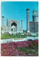 1 AK Usbekistan * Ulugh Beg Madrasa (islamische Hochschule) In Samarkand - Erb. 1417-1420 -  2001 UNESCO Weltkulturerbe - Oezbekistan