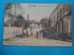 59 ) Beaurieux - Rue Des Pavés - Année 1914 :  EDIT : Comptoirs Français - France