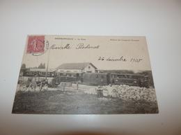 HERMONVILLE MARNE LA GARE ANNEE 1905 - Autres Communes