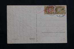ALLEMAGNE - Affranchissement De Lunebourg ( Cad 1926) Sur Carte Postale De Hamburg  ( écrite En 1936) - L 61416 - Storia Postale