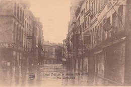 Liege Crue De La Meuse 1925 1926 Rue Cathedrale - Liege