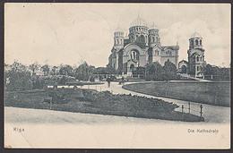 Riga Lettland Russland Um 1905 Beschrieben Kathedrale - Lettonia