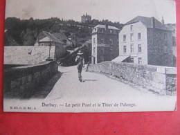 CPA - DURBUY - LE PETIT PONT ET LE THIER DE PALENGE - Durbuy