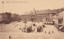 Liege Palais De Justice Et Place Saint Lambert - Liege