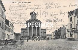2 Eglise Et Grand'Place - Virton - Virton