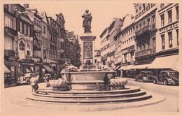 Liege Rue Vinave D Ile Et Statue De La Vierge - Liege