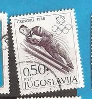 1 - YU  JUGOSLAWIEN JUGOSLAVIJA   SPORT  USED - Jumping