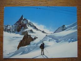 ITALIE - ITALIA -Val D'Aosta- COURMAYEUR - Chamonix ( France )-Glacier Et Dent Du Géant - Ghiacciaio E Dente Del Gigante - Italy