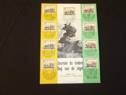 "BELG.1963 1249 Filatelic Card  : "" Dag Van De Postzegel / Journée Du Timbre "" - 1961-70"
