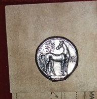 Punic Dracm Silver Horse With Palm - Orientales