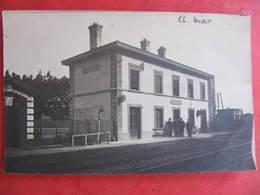 Carte Photo - EL BIAR ? - LA GARE - Algerien