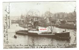 S/S STETTIN RPPC Sent From Lemvig Denmark To The US In 1906 - Commercio