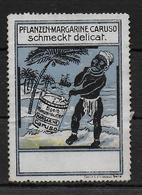 Deutsches Reich Caruso Margarine Vignet Werbemarke Cinderella Advertisement Label - Fantasie Vignetten