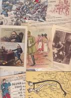 Lot 2357 De 10 CPA Satiriques Caricatures Kaiser Etc Déstockage Pour Revendeurs Ou Collectionneurs - 5 - 99 Postales