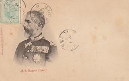 Carte Maximum - M.S. Regele Carol I - Roumanie