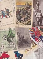Lot 2358 De 10 CPA Satiriques Caricatures Kaiser Etc Déstockage Pour Revendeurs Ou Collectionneurs - 5 - 99 Postales