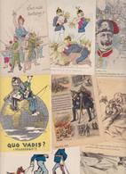 Lot 2360 De 10 CPA Satiriques Caricatures Kaiser Etc Déstockage Pour Revendeurs Ou Collectionneurs - 5 - 99 Postales