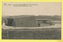 * Knokke - Knocke (Kust - Littoral) * (Star) La Grande Batterie Wilhelm II, Canon, Gun, Soldat, Guerre, War, Armée, TOP - Knokke