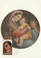 Carte Maximum - Madonna Della Seggiola - Gibraltar