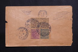 INDE - Enveloppe De Rangoon Pour Saïgon En 1932, Affranchissement Plaisant Au Verso - L 61422 - 1911-35  George V