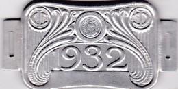 Plaque Fiscale Vélocipèdes 1932 - Steuermarken