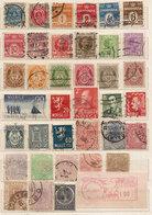 (Fb).Mondiali.Miscellanea Di 68 Francobolli Nuovi E Usati(2 Scan) (96-20) - Postzegels