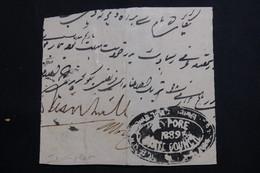 INDE - Lettre Incomplète En 1889 , à Voir - L 61424 - Non Classés