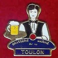@@ Marine Nationale Ponpom Bachi Brasserie De La Marine De TOULON Var (2x2) @@ma206a - Armee