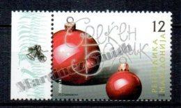 Macedonia 2008 Yvert 470, Christmas And New Year - MNH - Macedonia
