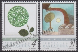 Macedonia 1998 Yvert 131-32, Protection Of Nature - MNH - Macedonia