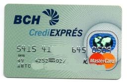Bank Old Credit Card Spain Visa Or  Master Card  BCH - Tarjeta De Credito - Cartes De Crédit (expiration Min. 10 Ans)
