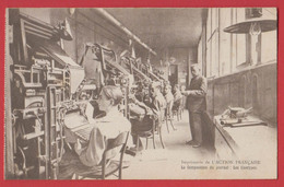 JOURNAL L'ACTION FRANCAISE : Imprimerie Les Linotypes Paris 8 , 14 Rue De Rome - Professions