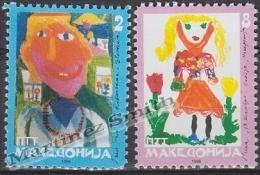 Macedonia 1996 Yvert 69-70, Children Of The World - MNH - Macedonia