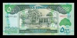 Somalilandia Somaliland 5000 Shillings 2015 Pick 21c SC UNC - Banknoten