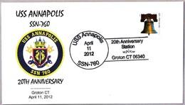 20 Aniversario USS ANNAPOLIS SSN-760 - 20th Anniversary. Groton CT 2012 - Submarines