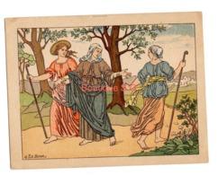 Image Pieuse Histoire Sainte N 88 Ruth Et Noémi Serie IX Chretien Paris - Images Religieuses