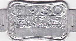 Plaque Fiscale Vélocipèdes 1930 - Steuermarken