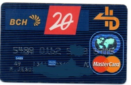 Bank Old Credit Card Spain Visa Or  Master BCH 20 YEARS- Tarjeta De Credito - Cartes De Crédit (expiration Min. 10 Ans)