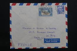 TRINITÉ ET TOBAGO - Affranchissement Mixte Trinité / France Sur Enveloppe En 1951 Pour La France - L 61439 - Trinidad & Tobago (...-1961)